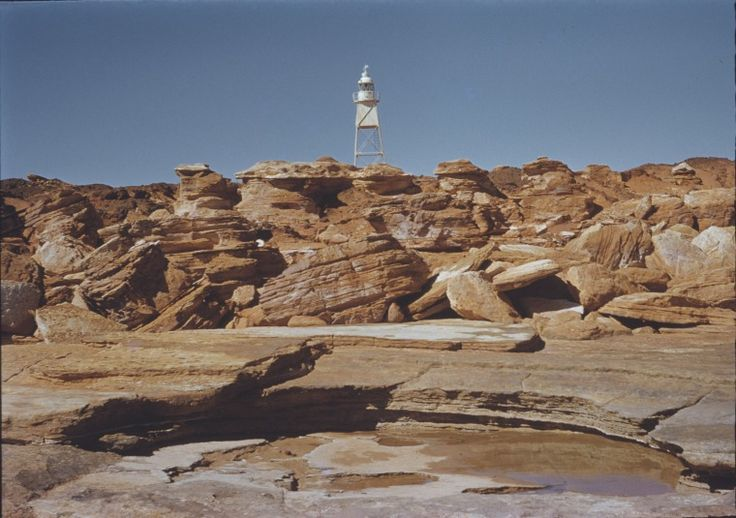 140331PD: Gantheaume Point Lighthouse, 1960.  http://encore.slwa.wa.gov.au/iii/encore/record/C__Rb3345120__SLighthouses%20--%20Western%20Australia%20__Ff%3Afacetmediatype%3Av%3Av%3APhotograph%3A%3A__P0%2C5__Orightresult__U__X3?lang=eng&suite=def