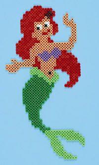 Disney Ariel / Hama perler beads  / Bügelperlen