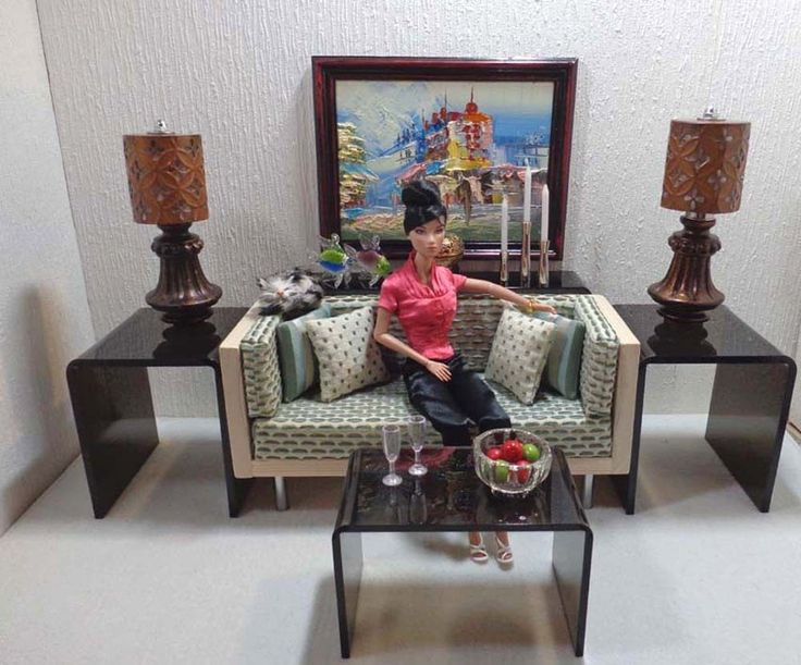 9 best Miniature 1 6 scale acrylic doll furniture images on