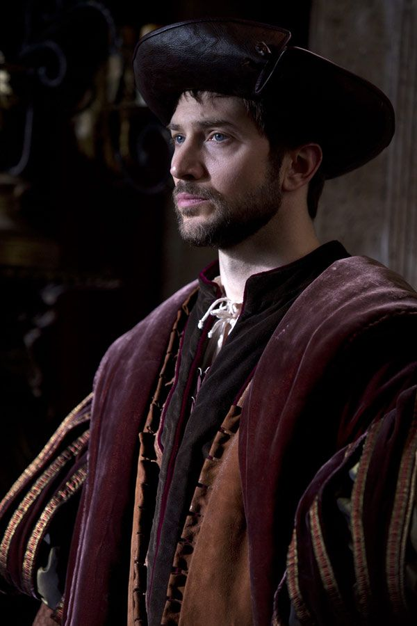 Sir Henry Norris - Luke Roberts in Wolf Hall (TV mini-series 2015).