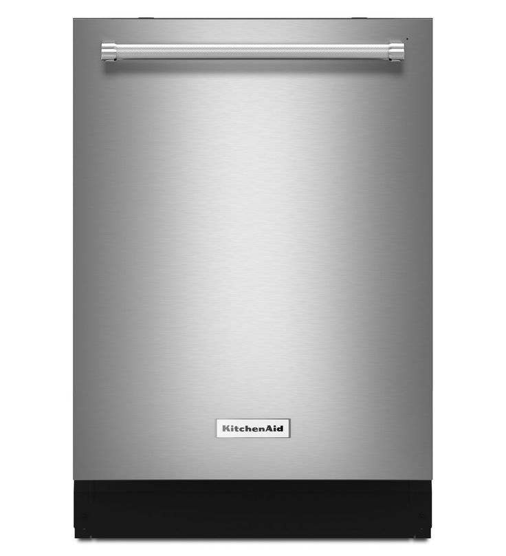 "KitchenAid KDTM354ESS dishwasher.  Consumer Report's 2nd highest rated dishwasher. 85 overall score.  23 7/8""W x 24.75""D x 33.5""H.  44 decibels.  Approximate retail price: $1000"