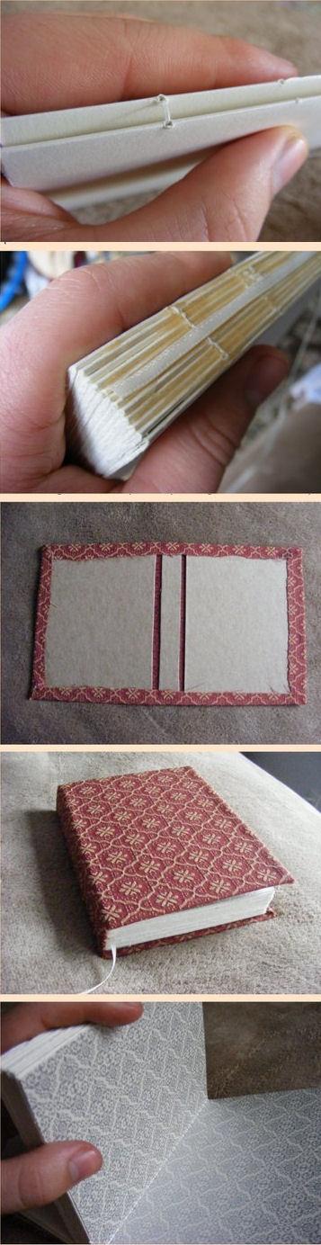 Mon livre maison Tuto avec une video pour la couture vimeo.com/41593456