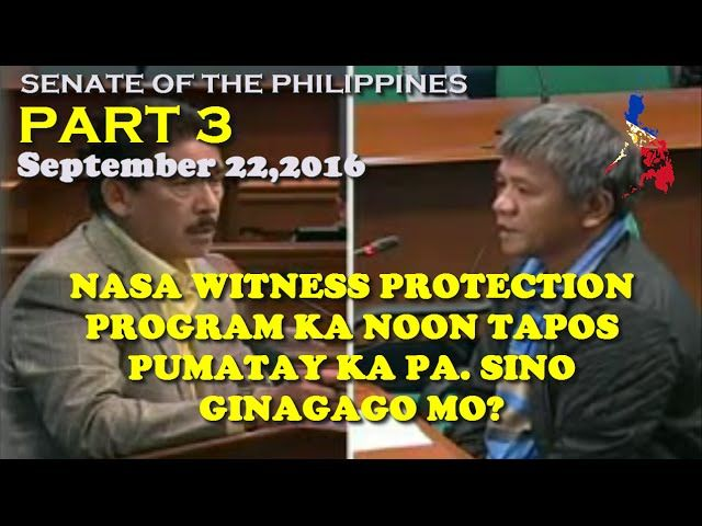 Senate Hearing Extrajudicial Killing Part 3 SEPTEMBER 22 2016 - http://www.dutertenewstoday.com/senate-hearing-extrajudicial-killing-part-3-september-22-2016/