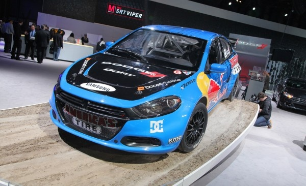 2013 Dodge Dart Rally Car