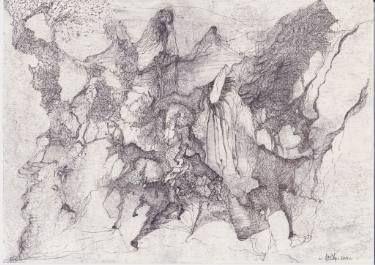 """Saatchi Art Artist Dorota Ziolko; Drawing, """"Shepherd"""" #art"""