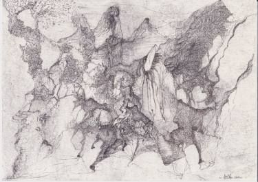 "Saatchi Art Artist Dorota Ziolko; Drawing, ""Shepherd"" #art"