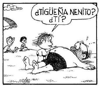 Mafalda Guille. Nenito