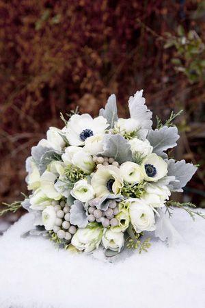dusty miller bridal bouquet wedding brides of adelaide magazine