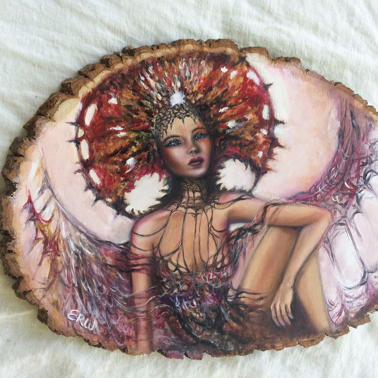 """Autumn Dreams"" - 11 x 14"" oil on wood by Artist Erica Wexler"