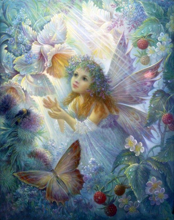 Beaux  tableaux de Nadezhda Strelkina       ''flower  fairy............lbxxx.