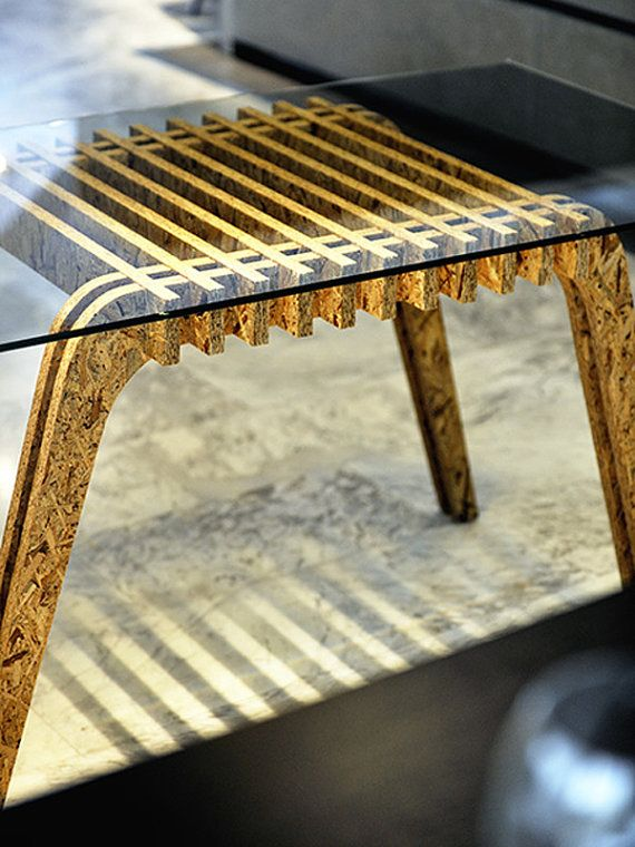 Osb Table by PapercutsbyAlex on Etsy, €499.00