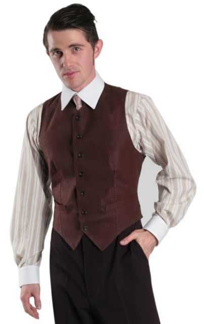 1940's men fashion vests - Google Search  Very sharp and I like the color.