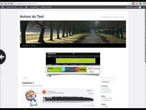 """Comment installer de la musique sur un blog avec """"SoundCloud""""  http://autourdututo.fr/comment-installer-musique-blog-soundcloud/"""