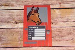 Pferde Einladung Geburtstag