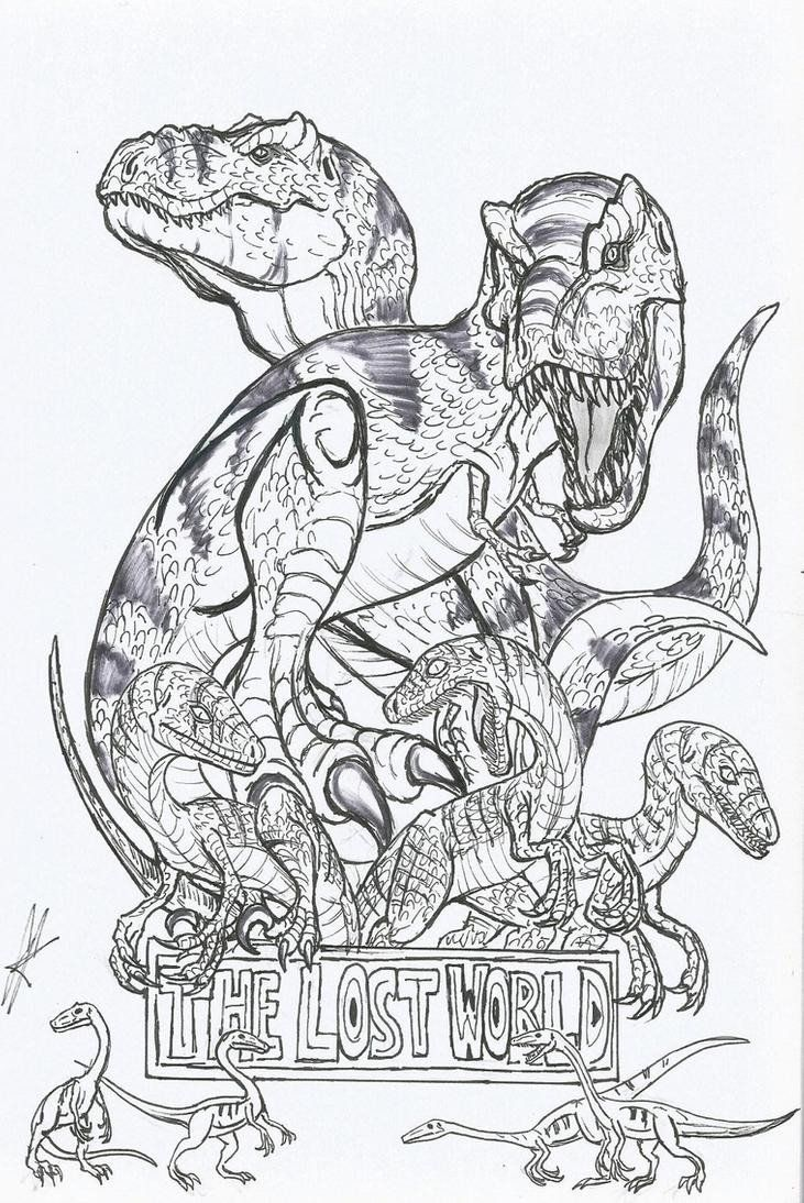 Jurassic World Coloring Pages Velociraptor Jurassic Park Coloring Pages Dog Coloring Page Coloring Pictures Of Animals Halloween Coloring Pages