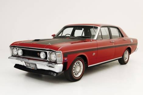 1969 XW Ford Falcon GT-HO (Australia)