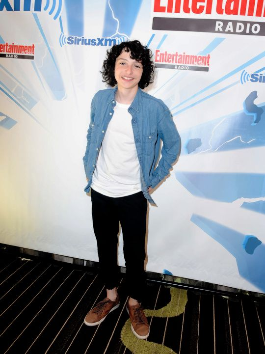 Finn Wolfhard attends SiriusXM's Entertainment Weekly Radio Channel Broadcasts From Comic Con 2017 at Hard Rock Hotel San Diego on July 22, 2017 in San Diego, California.