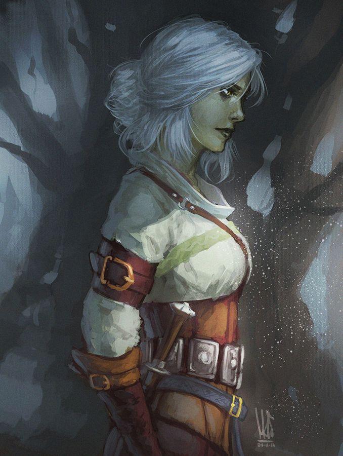 Ciri. by mkw-no-ossan.deviantart.com on @DeviantArt