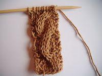 Een fijn lesje in kabels breien   A la Sascha
