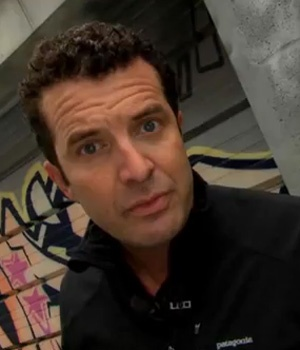 Canadian Political comedian Rick Mercer   ( The Mercer Report )