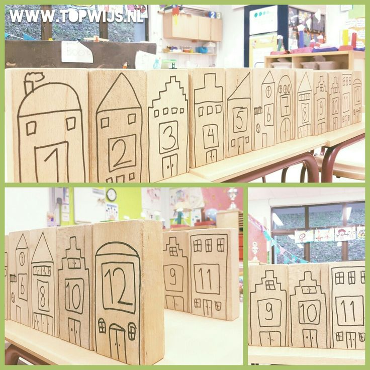 #bouwen #rekenen #haagseset #huisnummers #kleuters
