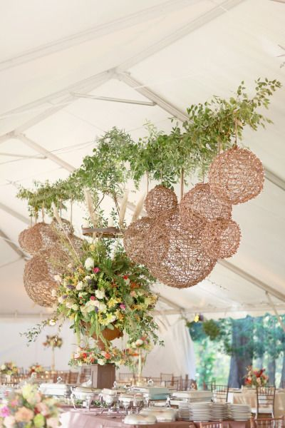 Garden inspired reception: http://www.stylemepretty.com/2015/03/30/secret-garden-inspired-alabama-wedding/ | Photography: Simply Bloom - http://www.simplybloomphotography.com/