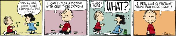 Peanuts Cartoon for Sep/12/2013