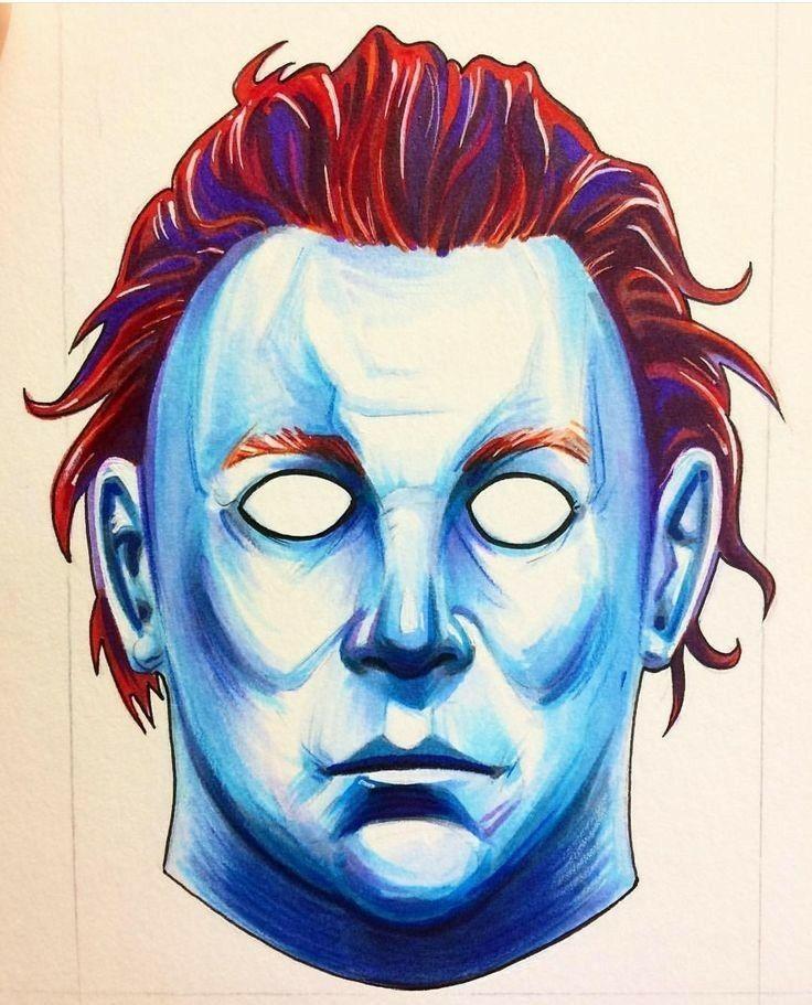 Pin De Mae Loux Em Michael Myers Halloween Desenhos The