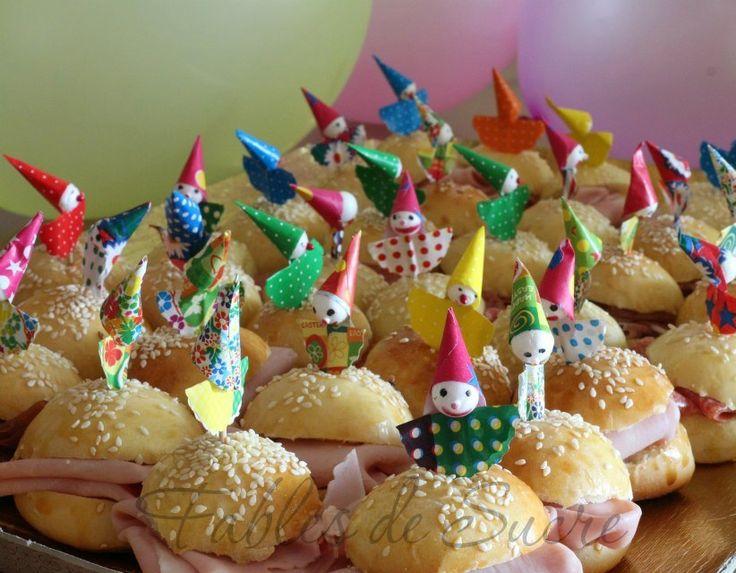 Panini semidolci da buffet | Fables de Sucre