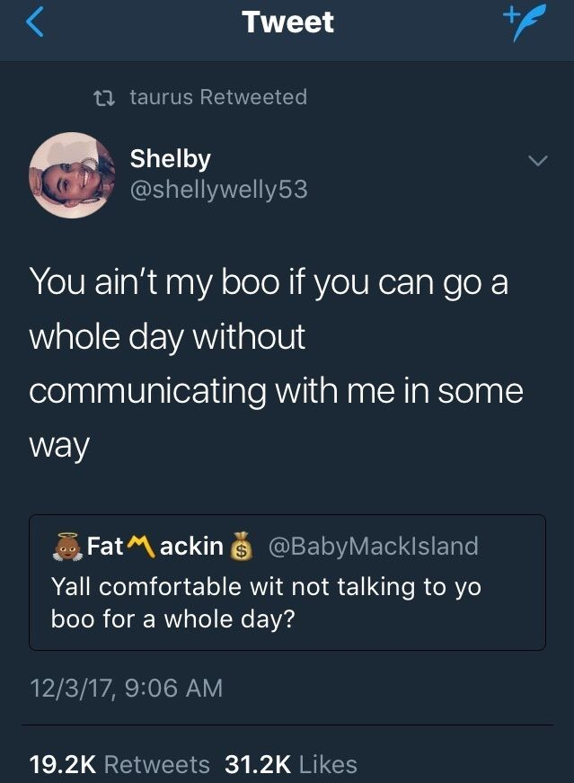 #G frfr!! If you really can jus go days without talking to me, wit ease, an that don't mean shit or bother you, then you might as well jus stay gone!!