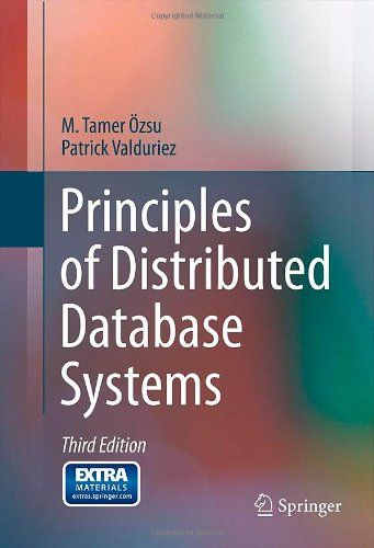 I'm selling Principles of Distributed Database Systems by M. Tamer Özsu and Patrick Valduriez - $25.00 #onselz