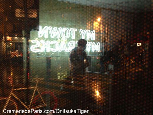DJ au cocktail de Onitsuka Tiger à la Crèmerie de Paris