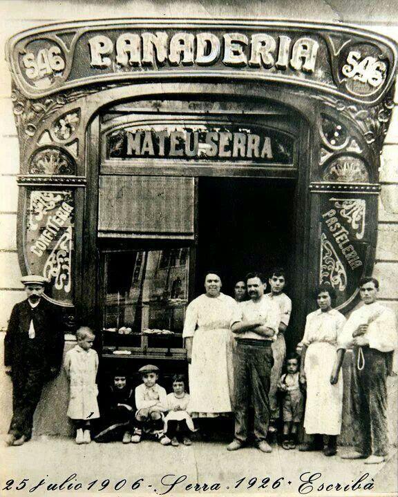 Inaguración Panaderia Escribà 1906