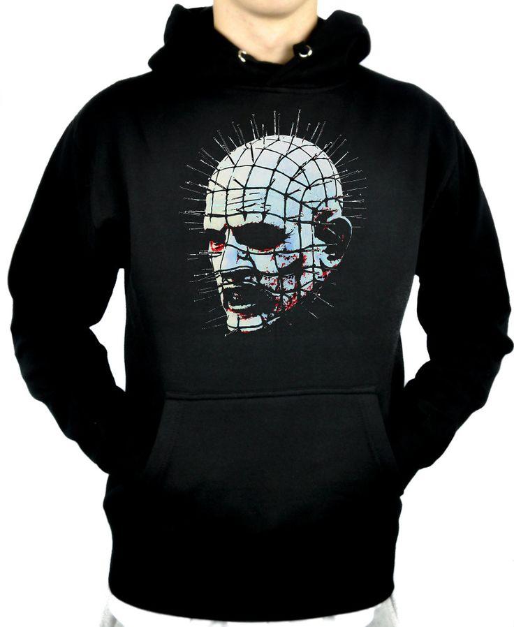 Pinhead Hellraiser Pullover Hoodie Sweatshirt Horror Clothing