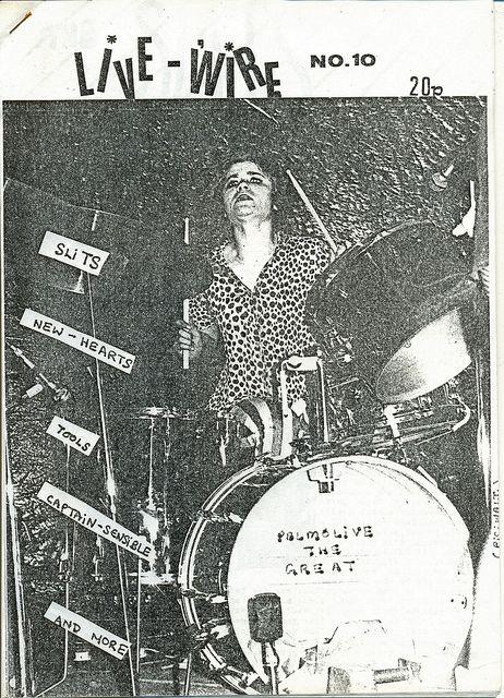 Live Wire fanzine, 1977 by PaulWrightUK, via Flickr
