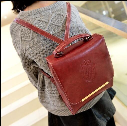New Handbag Shoulder Bag Dual Shoulder Backpack College Wind Casual Fashion Tide Canvas Bag School Bags Online with $19.09/Piece on Shoxinbox's Store | DHgate.com