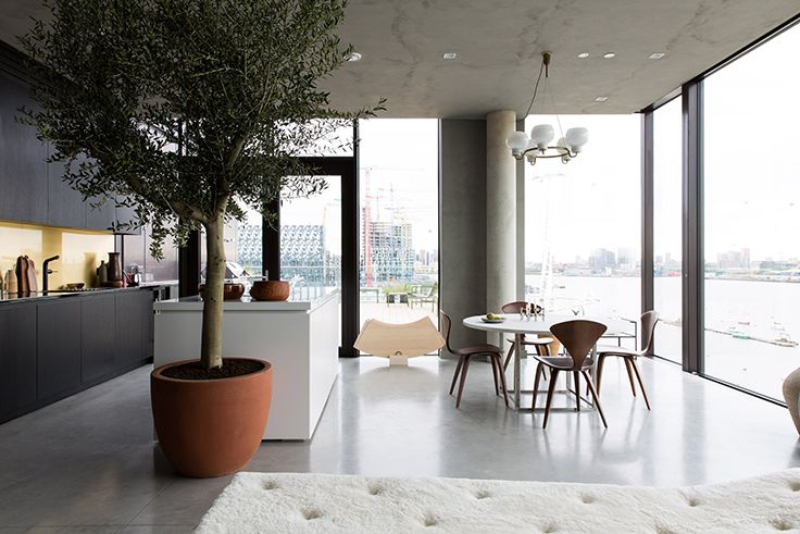 Take a Look at This Contemporary Show Flat by Cereal Magazine #interiordesign #luxury #decoration #decor #furniture #lighting #lamps #mid-century #architecture #Architects #design #inspiration #ideas #bocadolobo #delightfull #brabbu #koket #cabinets #rugs #upholstery #sofa #retro #jazz #house #home #residential #commercial #projects #dubai #london #showroom #kitchen #bedroom #livingroom #outdoor #usa #america #studio #delightfull #brabbu #bocadolobo #madrid #newyork #miami #colorado…