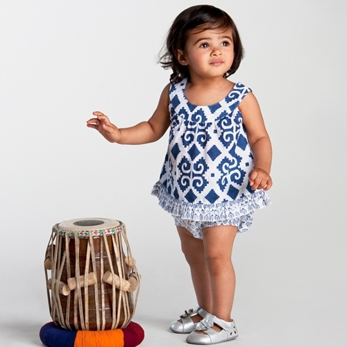 ikat baby clothes