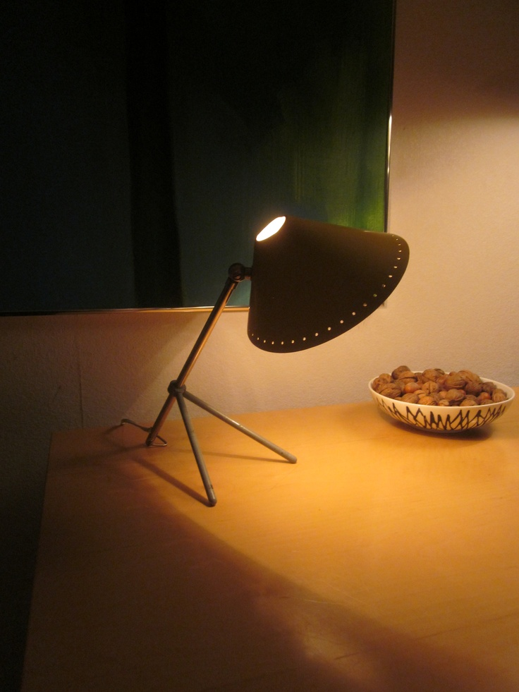 H.Th.A. Busquet 1950's lamp