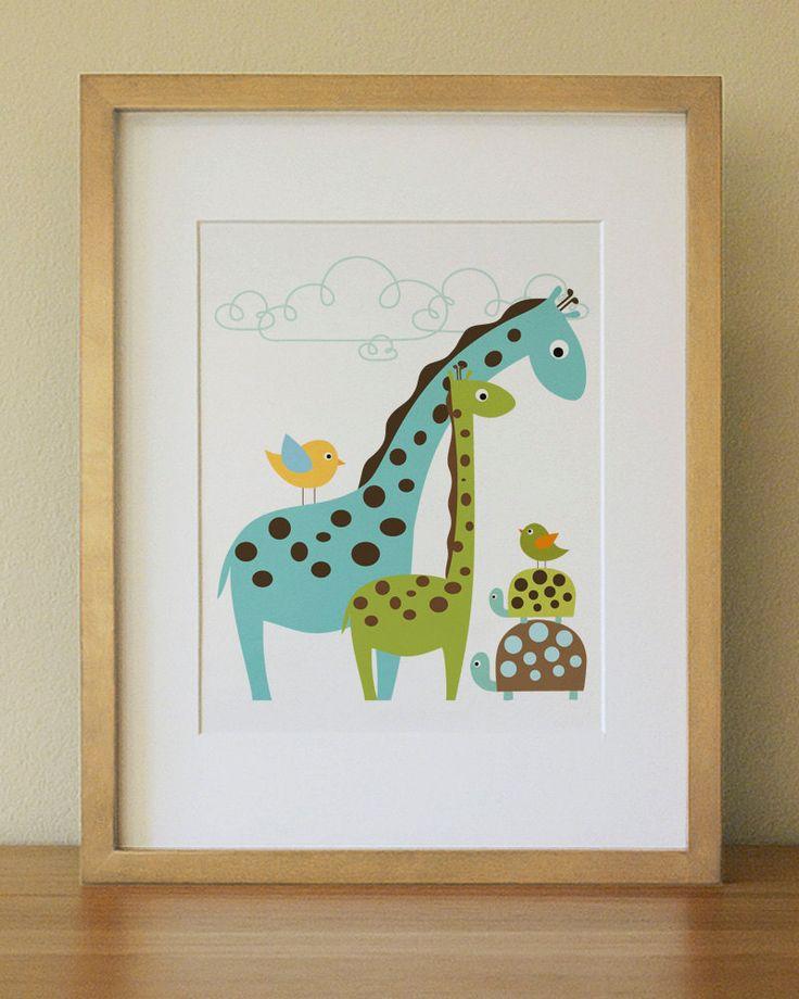 Baby Room Wall Art 71 best giraffe baby nursery images on pinterest | babies nursery