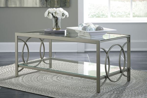 Charmoni Rectangular COFFEE Table * D by Ashley Furniture is now available at American Furniture Warehouse. Shop our great selection and save!