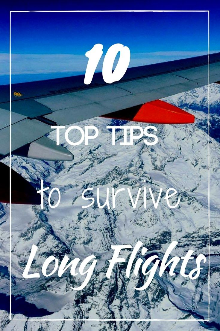 We all love travelling and going to exotic places, but taking long flights? Not so much. If you're planning a long flight soon and not sure how to deal with it, you'll want to check out these top 10 tips on how to survive long flights.