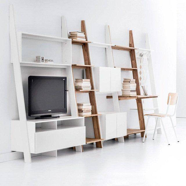 Les 25 meilleures id es de la cat gorie 55 meuble tv sur pinterest support tv diy stand de - Meuble tv petit espace ...