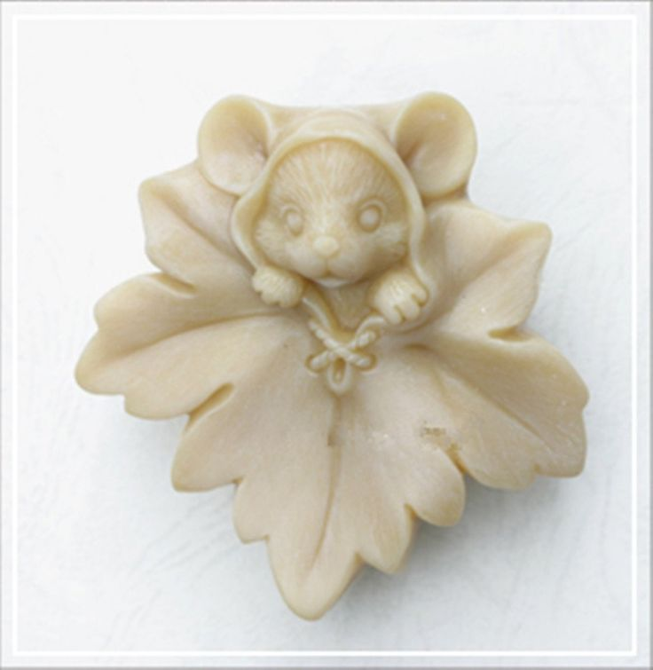 Longzang Maple leaf mice mould S301 Craft Art Silicone Soap mold Craft Molds DIY Handmade soap molds
