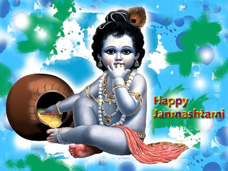 May Lord Krishna show the light on our path and fill the