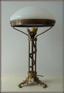 Stara lampa - Empire około 1910 roku (6158341342) - Allegro.pl - Więcej niż aukcje.