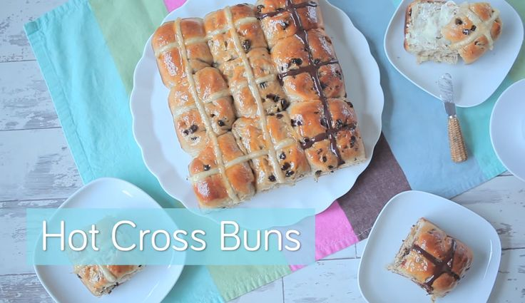 How To Make Hot Cross Buns - 3 Types!