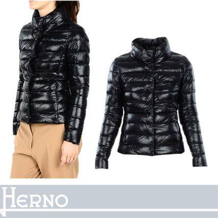 HERNO ダウンジャケット・コート HERNO スリムフィットで女性らしい美シルエットダウン ブラック