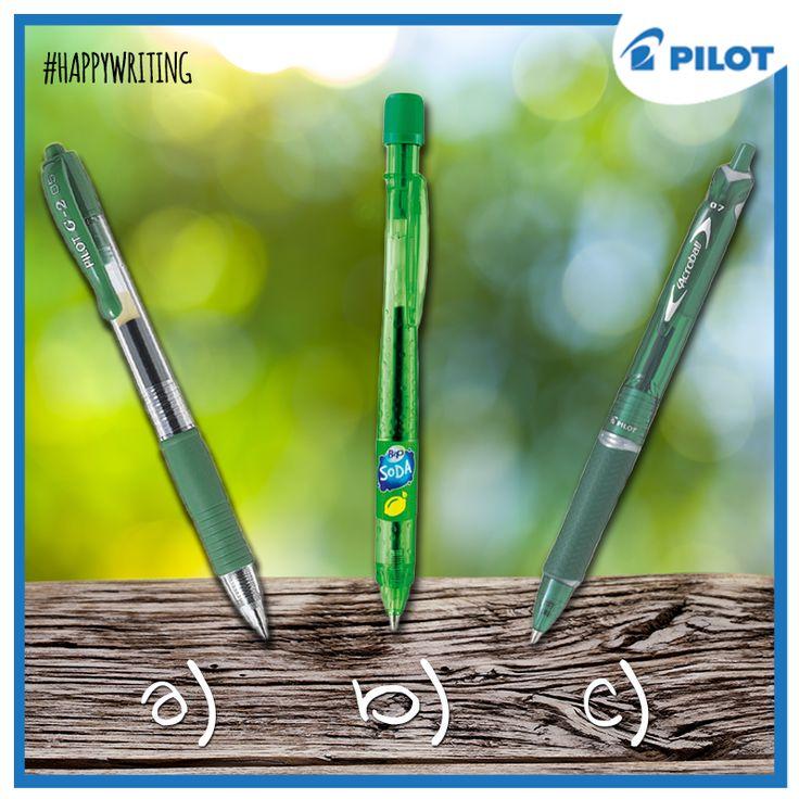 Víš, že pera #Pilot jsou šetrná k životnímu prostředí? Mají totiž vyměnitelné náplně, a proto se dají použít opakovaně! Jaké je tvoje #NEJ? #happywriting