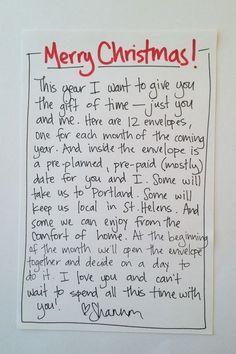 Ein weiteres schönes Geschenk, das nicht Dein Konto sprengt, ist ein von Herzen kommender Weihnachtsbrief: | 21 preiswerte Last Minute-Geschenke, für die Du Dich nicht schämen musst